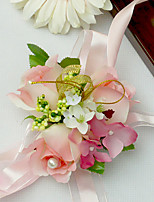 Yuxiying Wedding Wrist Corsages  Rosebud Wedding Party More Coloer