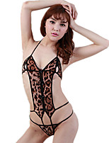 Women's Suits Nightwear,Sexy Leopard-Thin