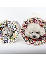 Colliers Portable Fleur Tissu