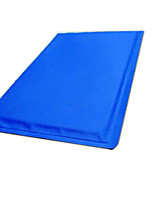 Cat Dog Bed Pet Mats & Pads Solid Foldable Blue