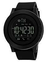 Women's Men's Sport Watch Smart Watch Digital Watch Digital PU Band Black
