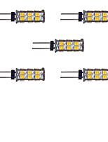2W Luci LED Bi-pin 26 SMD 2835 145 lm Bianco caldo Bianco DC 12 V 5 pezzi