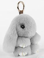 Charme-Anhänger für Taschen / Handys Karikatur Spielzeug Kaninchenfell