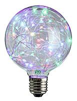 2W Ampoules Globe LED 25 LED Dip 100-200 lm Blanc Chaud RVB Décorative V 1 pièce