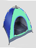 3-4 persons Tent Camping Tent Automatic Tent Keep Warm Dust Proof for Camping / Hiking CM Other Material