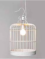 3w pendentif lumière traditionnelle / caractéristique de peinture classique pour le mini style bois / bambou salon / chambre / salle à