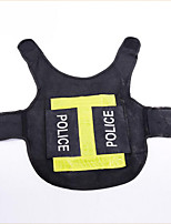 Dog Vest Dog Clothes Casual/Daily Sports Police/Military