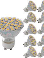 5W LED Spot Lampen MR11 29 SMD 5050 380 lm Warmes Weiß Kühles Weiß Dekorativ AC 220-240 V 10 Stück