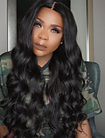 Guleless Lace Front Wig 150% Density Body Wave Human Hair Wigs Middle Part  Brazilian Virgin Hair Wig Front Natural HairLine Hot Selling