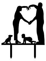Украшения для торта Классическая пара Для вечеринок Особые случаи День рождения Новорожденный ВечерниеПляж Сад Бабочки Сказка Рождение