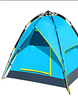 3-4 persons Tent Double Camping Tent Automatic Tent Keep Warm Dust Proof for Camping / Hiking CM Other Material