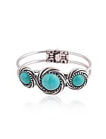 Women's Kid's Couple's Cuff Bracelet / Alloy Handmade Round Jewelry 1 pair