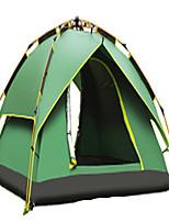 CAMEL 3 a 4 Personas Tienda Doble Carpa para camping Tienda de Campaña Automática Bien Ventilado Impermeable Resistente a la lluvia A