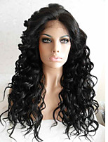 Hot Style 130% Density Natural Wave Glueless Lace Front Human Hair Wigs with Baby Hair for Black Women Cheap Brazilian 100% Human Hair Lace Front Wigs