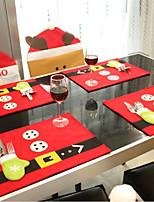 Tecido Não Tecido Decorações do casamento-1 Peça Natal Ano Novo
