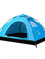 2 personnes Tente Unique Tente automatique Une pièce Tente de camping Coton Garder au chaud Etanche Protection Solaire-Camping-
