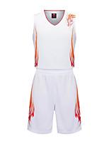 Garçons Sans Manches Basket-ball Ensemble de Vêtements Cuissards Antiusure Des sports