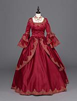 Une Pièce/Robes Gothique Doux Lolita Classique/Traditionnelle Punk Rococo Princesse Rétro Elégant Victorien Cosplay Vêtrements Lolita