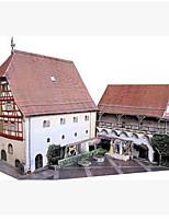 Puzzles Puzzles 3D Blocs de Construction Jouets DIY  Carré