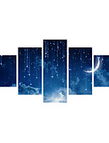 3D Wall Stickers Wall Decals Star Moon PVC Wall Stickers