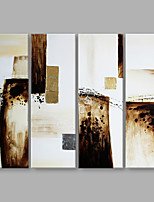 IARTS® Hand Painted Modern Abstract Triptych Mild Color Oil Painting On Canvas Set of 3 Stretched Frame Wall Art For Home Decoration Ready To Hang