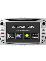 Ownice c500 octa core 32gb rom 2gb ram android 6.0 gps radio navi pour ford focus mondeo s-max galaxy tourneo connectez le support de