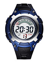 Kid's Sport Watch Fashion Watch Digital Water Resistant / Water Proof Rubber Band Black