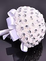 Свадебные цветы Букеты Свадебное белье Бусины Около 19 см