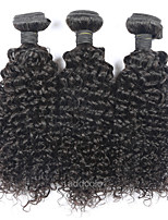 Addcolo Brazilian Curly Virgin Hair Weft 100% Unprocessed Human Hair Weaves 1 Bunlde Natural Color Hair Extensions