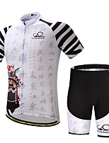 CYCEARTH Cycling Jersey Shorts Pants Short Sleeve Set Men's Bike Clothing Suits Clothes Summer Breathable Quick Dry CES1012