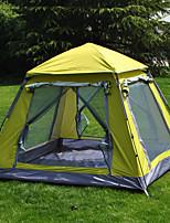 3-4 personnes Tente Abri avec Filet de Protection Unique Tente de camping Tente automatique Etanche Résistant à la poussière 1500-2000 mm