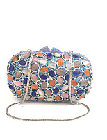 Women Vintage Gem Multi Color Evening Clutches Frames Bags