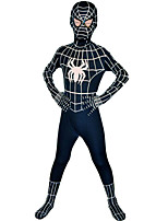 Zentai Suits Super Heroes Spider Movie Cosplay Zentai Halloween Christmas Kids Lycra