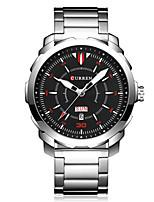 Жен. Муж. Спортивные часы Нарядные часы Модные часы Наручные часы Уникальный творческий часы Китайский КварцевыйКалендарь Защита от влаги