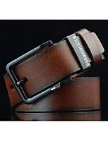 Men's joker black needle wide belt buckle fashion cowboy belts restoring ancient ways