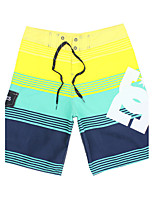 Homens Calcinhas, Shorts & Calças de Praia Listrada
