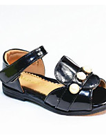 Girls' Flats Comfort PU Spring Summer Casual Comfort Green Black Flat