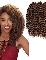 3pcs/pack Synthetic crochet braids 10inch jerry curly twist braiding hair ombre color pre looped savana jerry curl hair wave twist 2-3pack/head