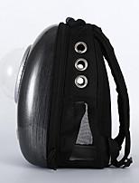 Chat Chien Sac de transport Animaux de Compagnie Transporteur Portable Respirable Couleur Pleine Noir