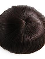 8x10 Inch Mens Toupee Wig Mono Base Hair Piece #3 Hair Toupee-6 Inch Human Hair