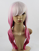 Optimal Sin Crown  Qi Gradient Pink Hair Make Cosplay Wig Anime Harajuku Wig Wholesale
