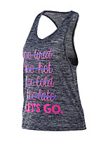 Women's Workout Tank Fitness, Running & Yoga Quick Dry Tank Top for Running/Jogging Exercise & Fitness Loose Gray