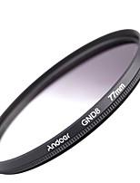 Andoer 77mm forma circular graduação neutro densidade gnd8 graduado filtro cinza para canon nikon dslr camera