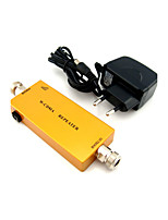 Mini 3G W-CDMA Mobile Phone Signal Booster UMTS 2100mhz Signal Repeater Amplifier with Power Adapter Golden