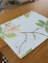 Waterproof Chinese Fine Insulation Cotton And Linen Table Placemat 32*45cm