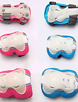 Kids' Knee Pads + Elbow Pads + Wrist Pads for Cycling Ice Skating Roller Skates Inline Skates Protective Vibration dampening Flexible