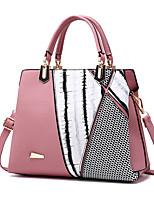 IMBETTUY Women's Fashion Ruffles PU Leather Messenger Shoulder Bags/Handbags Tote