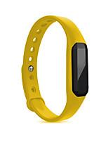 Mulheres Homens Relógio Esportivo Relógio Inteligente Digital Impermeável Monitor de Batimento Cardíaco Borracha BandaVermelho Roxa