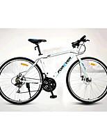 Vélos Confort Cyclisme 21 Vitesse 26 pouces/700CC SAIGUAN EF-51 Frein à Disque Sans Amortisseur Cadre en Alliage d'AluminiumOrdinaire