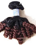 Addcolo Hair 2 Tone Ombre Peruvian Curly Hair Color 1b/33 100% Virgin Human Hair Weave Bundles 12-26 inch